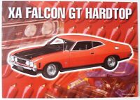 BROCHURE - 1:18 FORD XA GT RED - RARE!