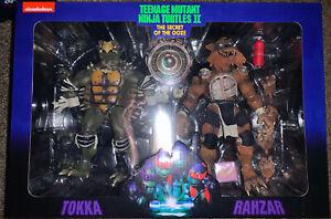 NECA Tokka Rahzar 2pk TMNT Teenage Mutant Ninja Turtles