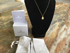 14kt Yellow Gold Double Leaf Necklace-RARE-With Original Pkg!