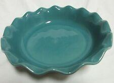 Emile Henry Artisan Pie Plate Baking Dish 9 inch Teal Ceramic Williams Sonoma