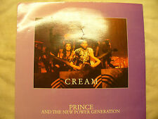 PRINCE CREAM / HORNY PONY uk demo / promo 45rpm