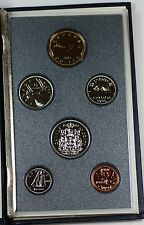 1989 Canada Proof Set, Gem Coins, With Sleeve, COA