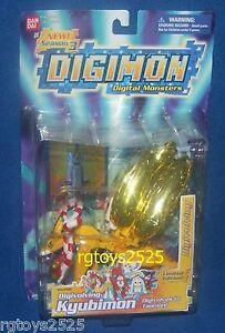 DIGIMON Digivolving Limited Edition KYUBIMON Taomon New Factory Sealed 2003