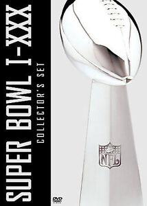 NFL Films Super bowl Collection - Superbowl I-XXX (DVD, 2004, 15-Disc Set)