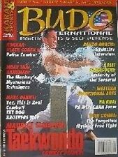 3/03 BUDO INTERNATIONAL RENZO GRACIE GOSEI YAMAGUCHI KARATE KUNG FU MARTIAL ARTS