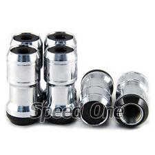 Metal Wheel Racing Tuner Lug Nut Lock Dust Cap M12x1.25 for Nissan Suzuki Subaru