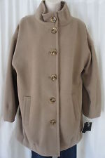 Alfani Coat Sz 12 Truffle Heavy Weight Fleece Career Casual Jacket Outerwear