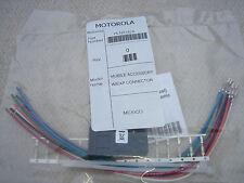 MOTOROLA HLN9242A GM SERIES ACCESSORY CONNECTOR GM340 GM350 GM300 CM340
