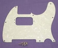 Humbucker ajourées Scratchplate Pour Fender Telecaster / blanc perle