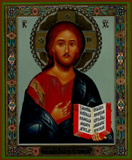 Russian  wood icon  Christ Almighty NEW! large