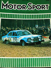 Rac Rally 1973 Timo Makinen Liddon Ford Escort Rs1600 Rs 1600 Roger Clark