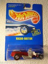 1992 HOT WHEELS RIGOR-MOTOR #247 - BASIC WHEELS / METAL MALAYSIA BASE