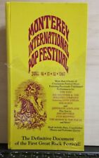 MONTEREY  INTERNATIONAL POP FESTIVAL JUNE 16-17-18-1967 - 4 CD SIGILLATO 1992