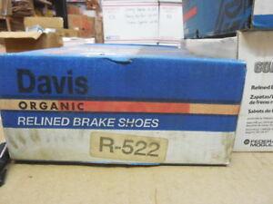 82-84 Pontiac Phoenix Rear Drum Brake Shoe Set R-522 BP-30
