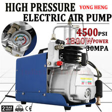 High Pressure PCP Electric Compressor Air Pump 300BAR 4500PSI Scuba 220V 30Mpa
