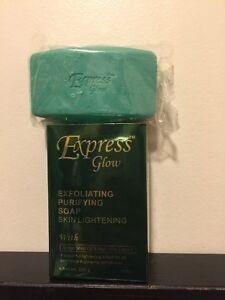 Express Glow Exfoliating Purifying Soap, Express Glow Soap. FAST SHIPPING.