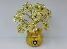 Feng Shui - 2017 Yellow Evil Eye Flower Tree on Wealth Pot