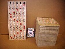 New Complete BINGO Game Set with 70 Improved Slide Slider Shutter Cards & More