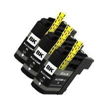 3 NON-OEM BLACK INK CARTRIDGE BROTHER LC-103XL LC-101XL LC-103BK MFC-J6920DW