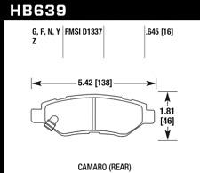 Hawk Disc Brake Pad-Sport Front for Cherokee Comanche Wrangler # HB210Z.677