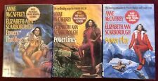 Anne McCaffrey & E Scarborough Lot - The Powers Trilogy -  1st Ed. FREE Shipping