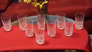 GLASSWARE~Beauty and elegance meet in these Waterford Crystal glasses
