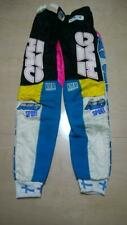 "* Vintage AXO Motocross Pants 28"" Black/Blue/Pink Used BMX DownHill  *"