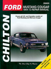 Chilton Repair Manual Ford Mustang & Cougar, 1964-73  #26600