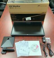 "LG - 24"" IPS LED FHD FreeSync Monitor [black] (24ML44B-B)"