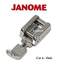 JANOME L/R Narrow Double Sided Zip Zipper piping Foot Genuine 940300000 - Cat A