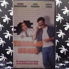 TRABAJO SUCIO (Bob Saget) VHS . norm macdonald jack warden chavy chase