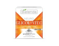 BIELENDA NEURO GLICOL VIT.C  NIGHT CREAM CORRECTOR WRINKLE DISCOLORATION