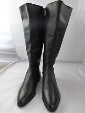 Nurture Black Leather Boots, Size 8.5, New