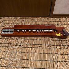 Pfau Mundharmonika Japanisch Suzuki Taisho Goto Koto W / Schutzhülle Sakyu Pick