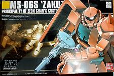 Hguc Ms-06s Zaku II Char's Custom 1/144 Bandai