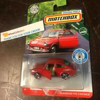 '65 Volkswagen Type 3 Fastback * 2019 Matchbox MOVING PARTS Series