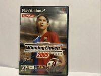 World Soccer Winning Eleven 2009 PS2 PlayStation 2 Japan JP Game US SELLER
