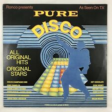 RONCO Presents PURE DISCO - 1979 - Vinyl Lp Comp - Jacksons Edwin Starr Chanson