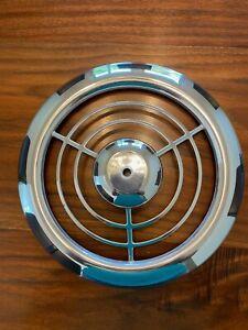 "Vintage Emerson Pryne 12"" diameter Chrome Grille cover"