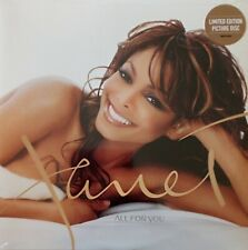 Janet Jackson All For You Limited Picture  Edition Vinyl ****SOLD OUT ***