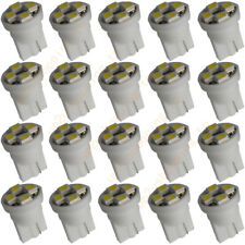 100x T10 SMD SMT4-LED 360° Xenon White T10 w5w 501 sidelight Bullbs DC 12V New
