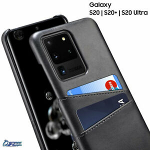 PU Leather Card Holder Slot Case Cover For Samsung Galaxy S20 Plus Note 20 Ultra