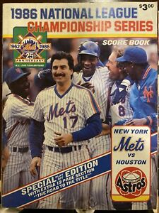 1988 New York Mets Official Baseball Yearbook
