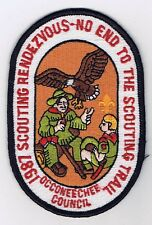 Activity Patch Scouting Rendezvous 1987 Occoneechee Council 701057