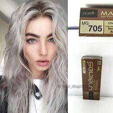 DCASH Master Titanium Blonde Color Cream #MG 705 Permanent Hair Dye Super Color