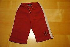 Schöne Jungen Jogging Hose ★ Baby Kleidung ★ Topolino ★ rot ★ Gr. 74