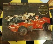 Oswego Speedway International Classic Yearbook 1973-Nolan Swift-color pix-Vg