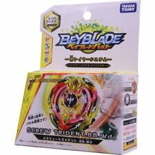 GENUINE TOMY BEYBLADE BURST BOOSTER B-103 SCREW TRIDENT 8B. WD.