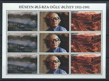 "Azerbaïdjan N°274/75**(MNH) en feuillet 1996 Peintre ""Hüseyn Ali-Rza Oglu Aliyev"