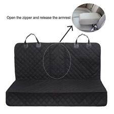 Waterproof Pet Seat Cover Hammock Car Seat Covers for Pets Dog Stain-proof Black